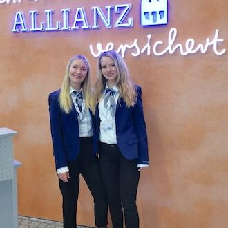 2 Promotionhostessen für Allianz