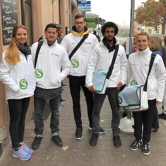 5 Promoter für S Bahn