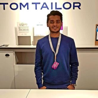 Aushilfe Kasse für Tom Tailor