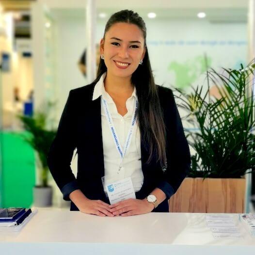Exhibition hostess
