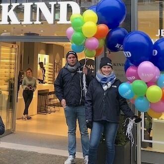 Promotion Team für KIND GmbH