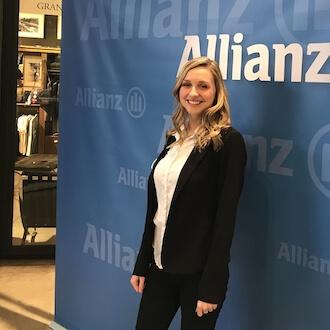 Promotionhostess für Allianz