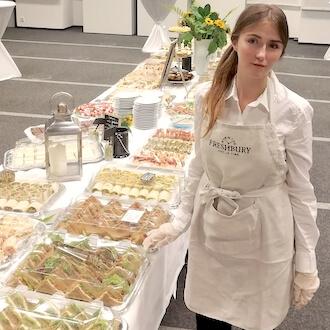 Unterstützung im Catering für Freshbury