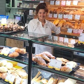 Verkäuferin in Bäckerei für basic AG