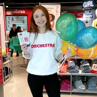 Verkaufsunterstützung für Orchestra