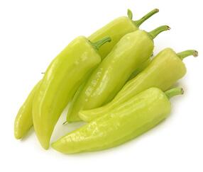 Grüne Spitzpaprika