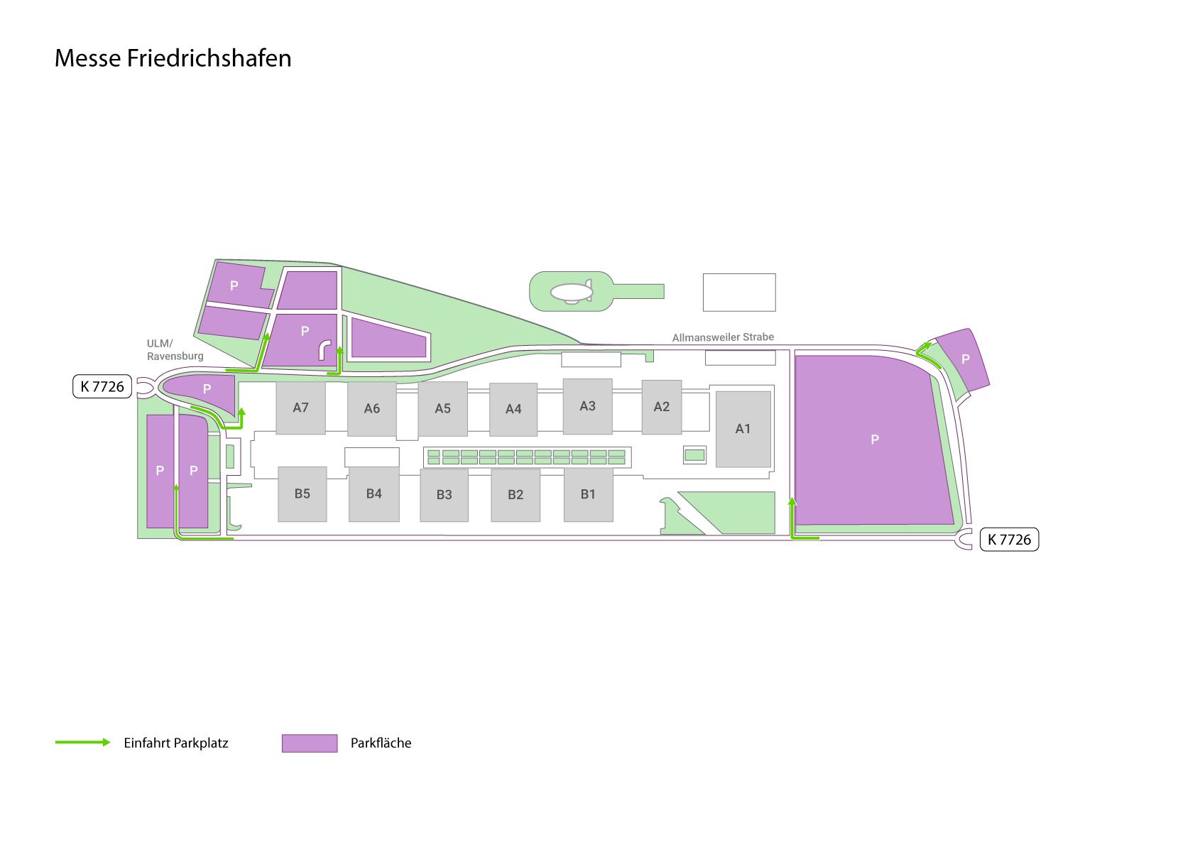 messe friedrichshafen infos zu anfahrt parken amp hotels. Black Bedroom Furniture Sets. Home Design Ideas