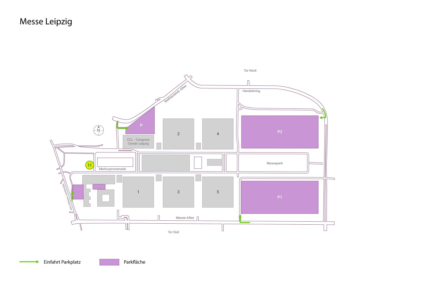 Umweltzone Leipzig Karte.Messe Leipzig Infos Zu Anfahrt Parken Hotels Instaff