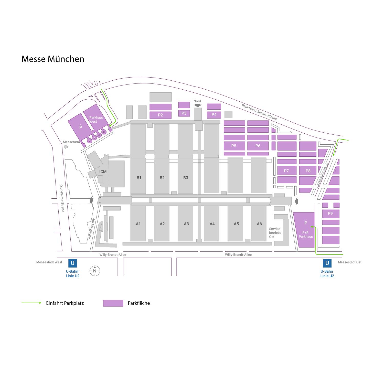 Messe München Infos Zu Anfahrt Parken Hotels Instaff
